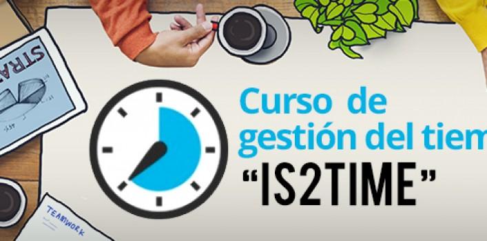 """Curso Gestión del Tiempo """"IS2TIME"""""""